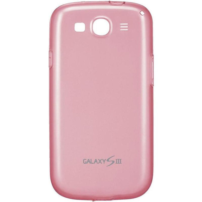 Samsung Soft Shell Samsung Galaxy S3 i9300 Cover (Pink)