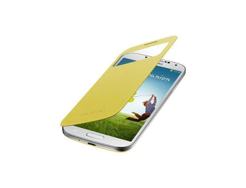 Samsung View Cover Galaxy S4 Cover (Yellow)