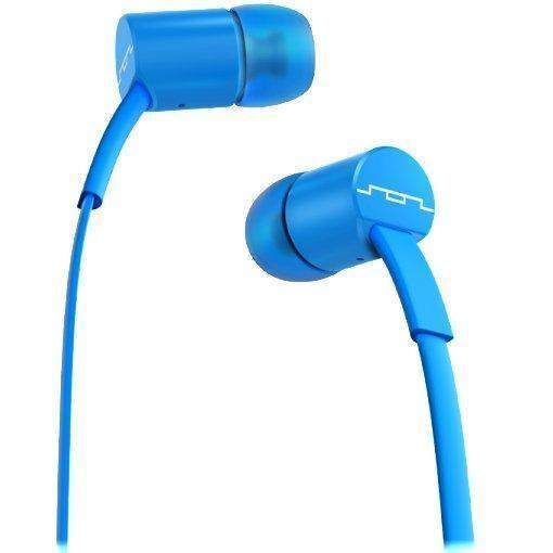 Sol Republic Jax Single Button Earphones (Blue)