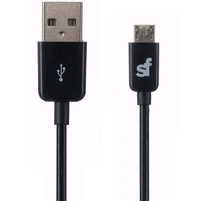Superfly Micro USB to USB Cable (Black)