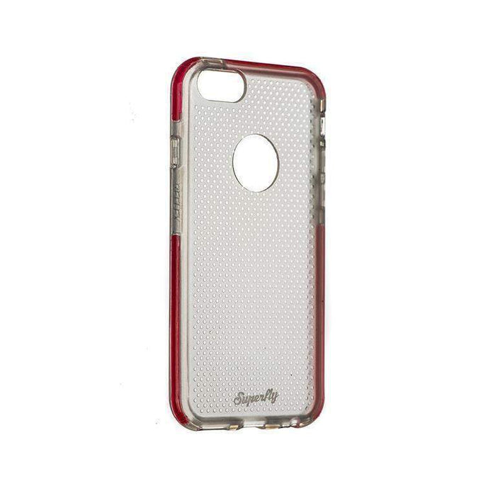 Superfly Soft Jacket Reflex New iPhone 6/6S Cover (Clear/Pink)
