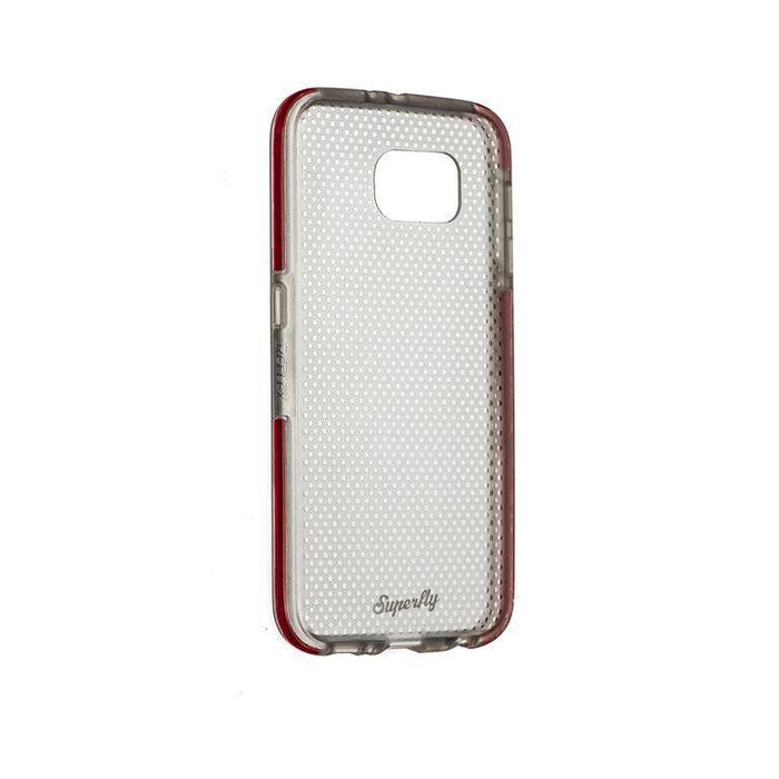 Superfly Soft Jacket Reflex Samsung Galaxy S6 Cover (Pink/Clear)