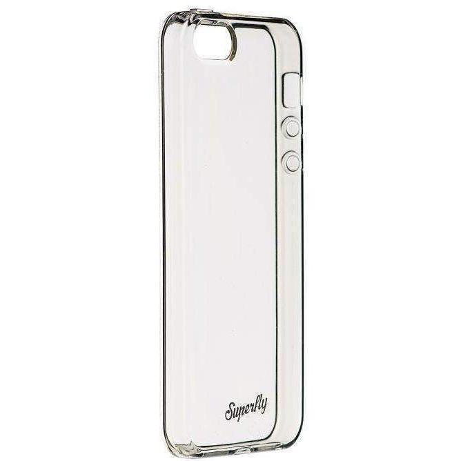 Superfly Soft Jacket Slim iPhone SE Cover (Clear)