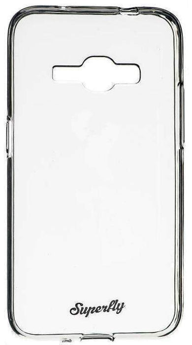 Superfly Soft Jacket Slim Samsung Galaxy J1 (2016) Cover (Clear)