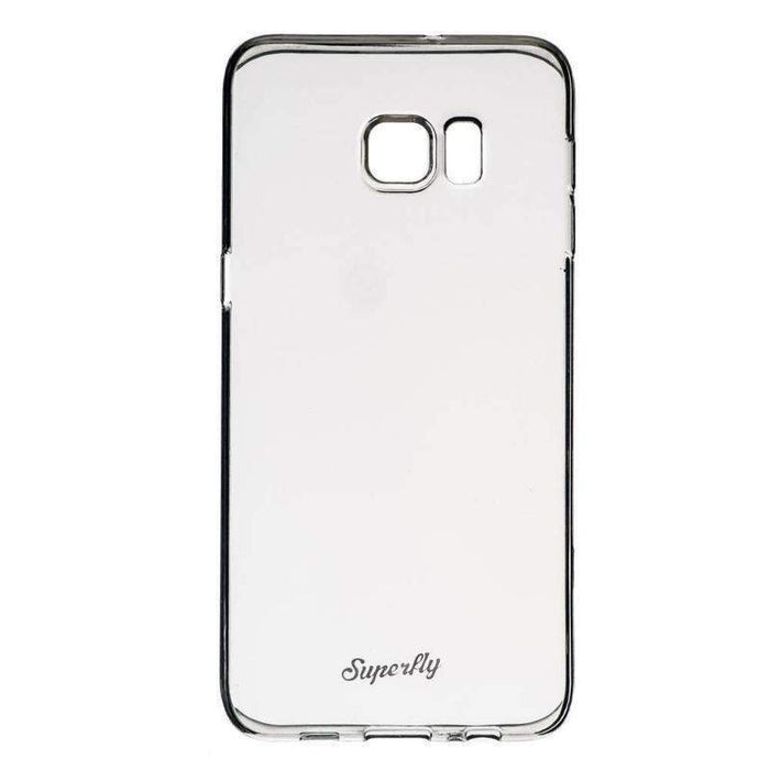 Superfly Soft Jacket Slim Samsung Galaxy S6 Plus Edge Cover (Clear)