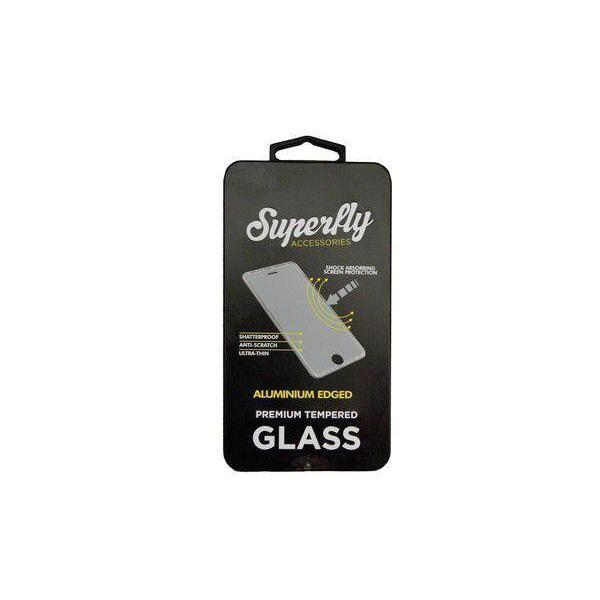 Superfly Tempered Glass Screen Protector Aluminium Edged iPhone 6/6S Plus (Rose Gold)