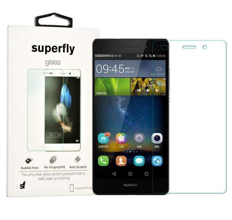 Superfly Tempered Glass Screen Protector Huawei P8 Lite (Clear)