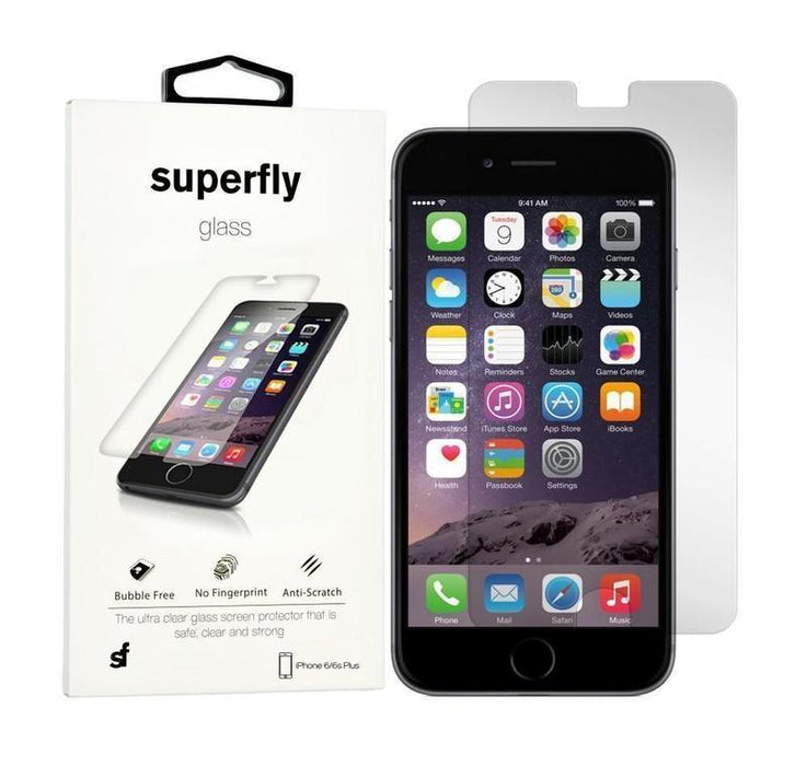 Superfly Tempered Glass Screen Protector iPhone 6/6S Plus