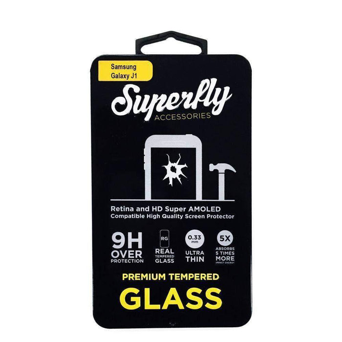 Superfly Tempered Glass Screen Protector Samsung Galaxy J1 (Clear)
