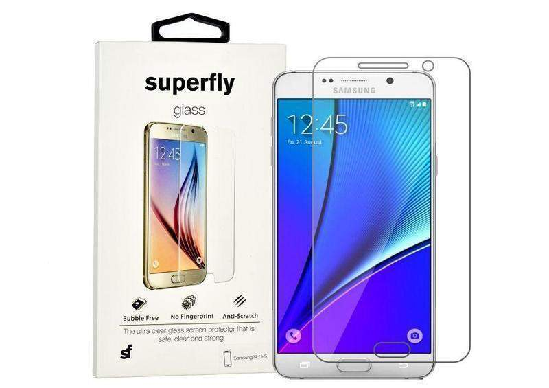 Superfly Tempered Glass Screen Protector Samsung Galaxy Note 5 (Clear)