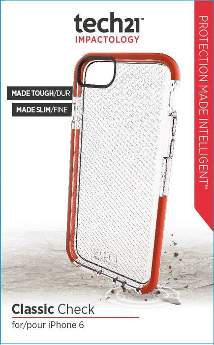 Tech21 Classic Check iPhone 6/6S Small Cover (Clear)