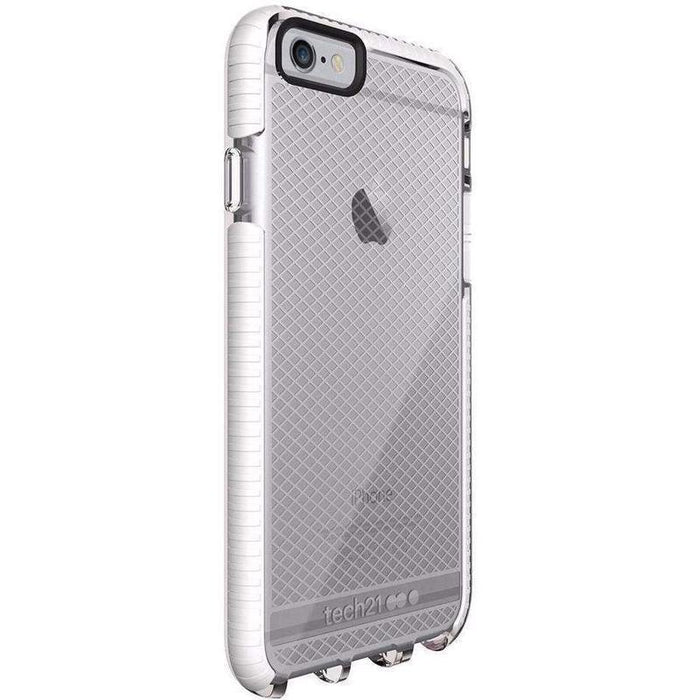 Tech21 Evo Check iPhone 6/6S Cover (Clear/White)