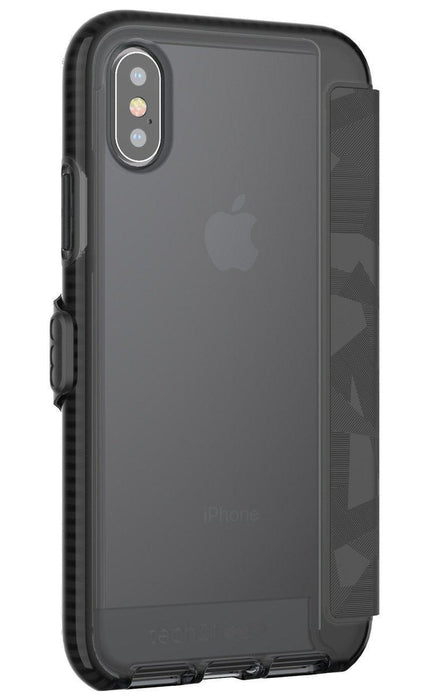Tech21 Evo Wallet iPhone X/10 Cover (Black)