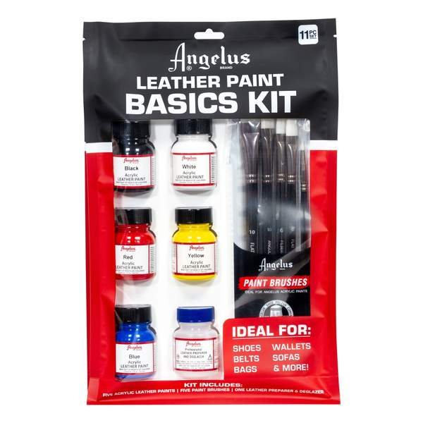 Angelus 6 Basics Kit With Brushes