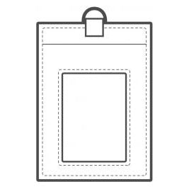 Makers Acrylic Templates Id Badge Holder
