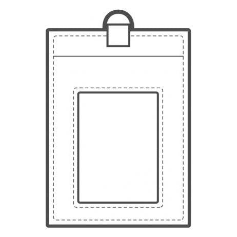 TandyPro® Templates ID Badge Holder Template
