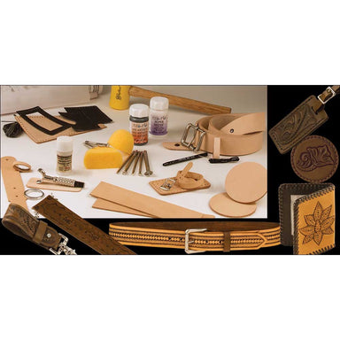 Deluxe Carving Leathercraft Set
