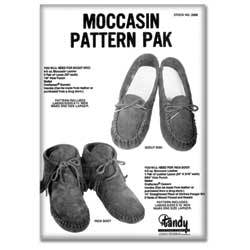 Moccasin Pattern Pack