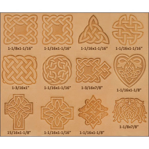 Craftool Large Star Stamp 6785-00 by Tandy Leather