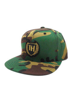 110 Hybrid Snap Back Camo Gold Logo