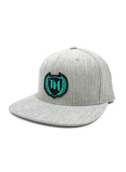 110 Hybrid Snap Back Gray Mint Logo