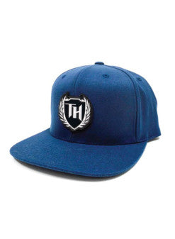 110 Hybrid Snap Back Navy White Logo