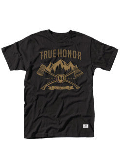 TH Rockies Men's Black T-Shirt