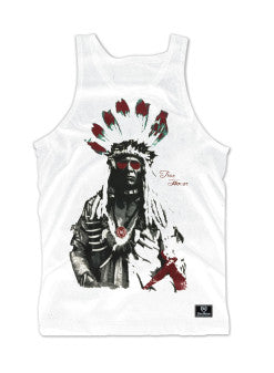 Heritage Tank Red Feathers