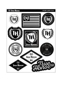 True Honor Sticker Variety Pack