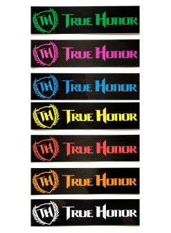True Honor Stickers