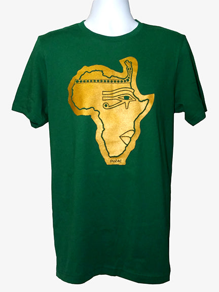 Phat of the Land Metallic Gold Green T-shirt