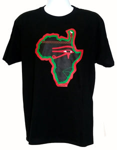 Phat of the Land Red, Black and Green T-shirt
