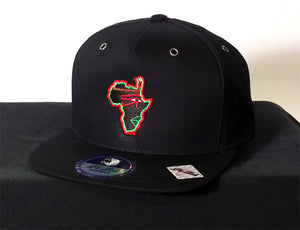 Phat of the Land Red, Black and Green Hat