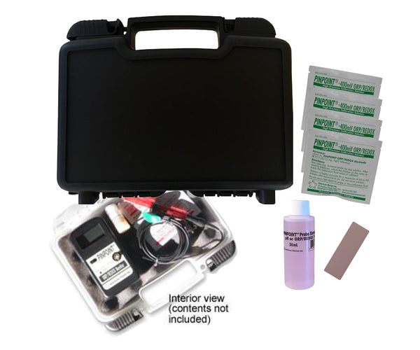 <i>   PINPOINT</i>® Armor Hard Carry Case Kit for ORP/REDOX Meters