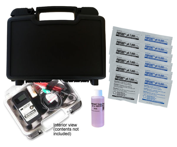 <i>   PINPOINT</i>® Armor Hard Carry Case Kit for pH Meters