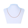 Simply Rose Gold Cuban Dainty Necklace