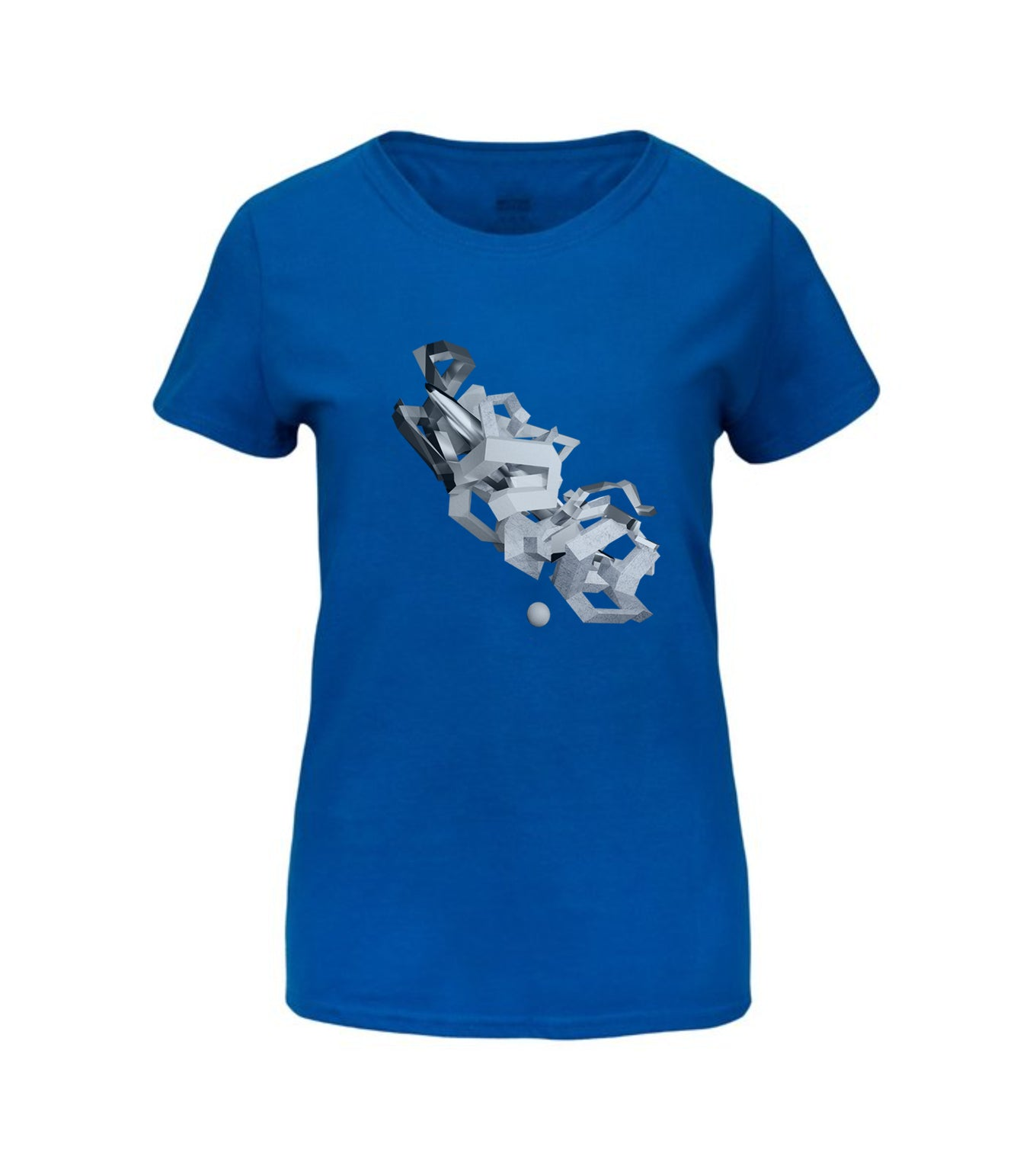 Blue Space Tag Premium Art T-Shirt