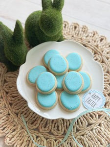 Robin Eggs Cookies | Mini Cookies | Easter Flash Sale