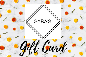 E-Gift Card - Sara's Custom Soap