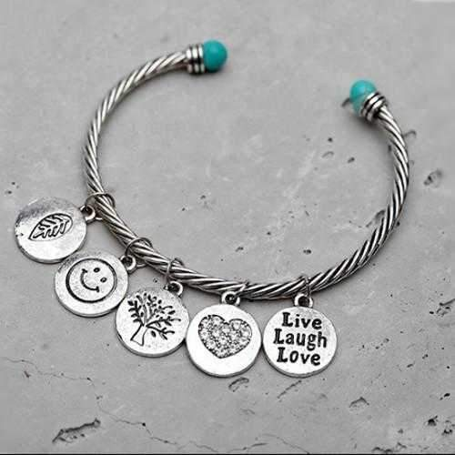 Love Much Bracelet Makes You Live Laugh Love