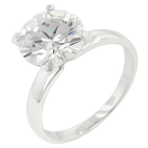 Timeless Solitaire Engagement Ring