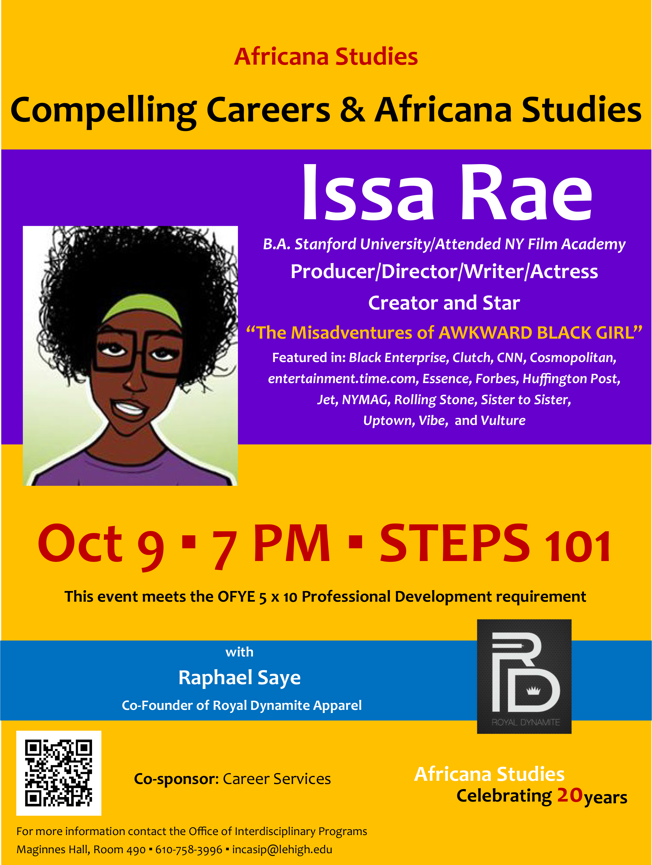 Leading Urban Clothing Line Partners with Issa Rae for Africana Studies Seminar at Lehigh University