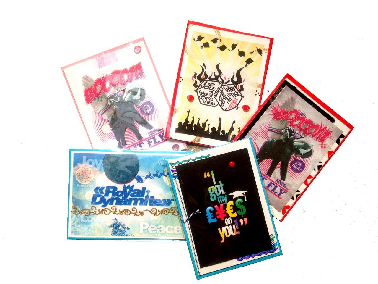 Hip Graphic T-Shirt Line Royal Dynamite Partners with Princess K Creations to Bring You Exclusive Greeting Card Collection