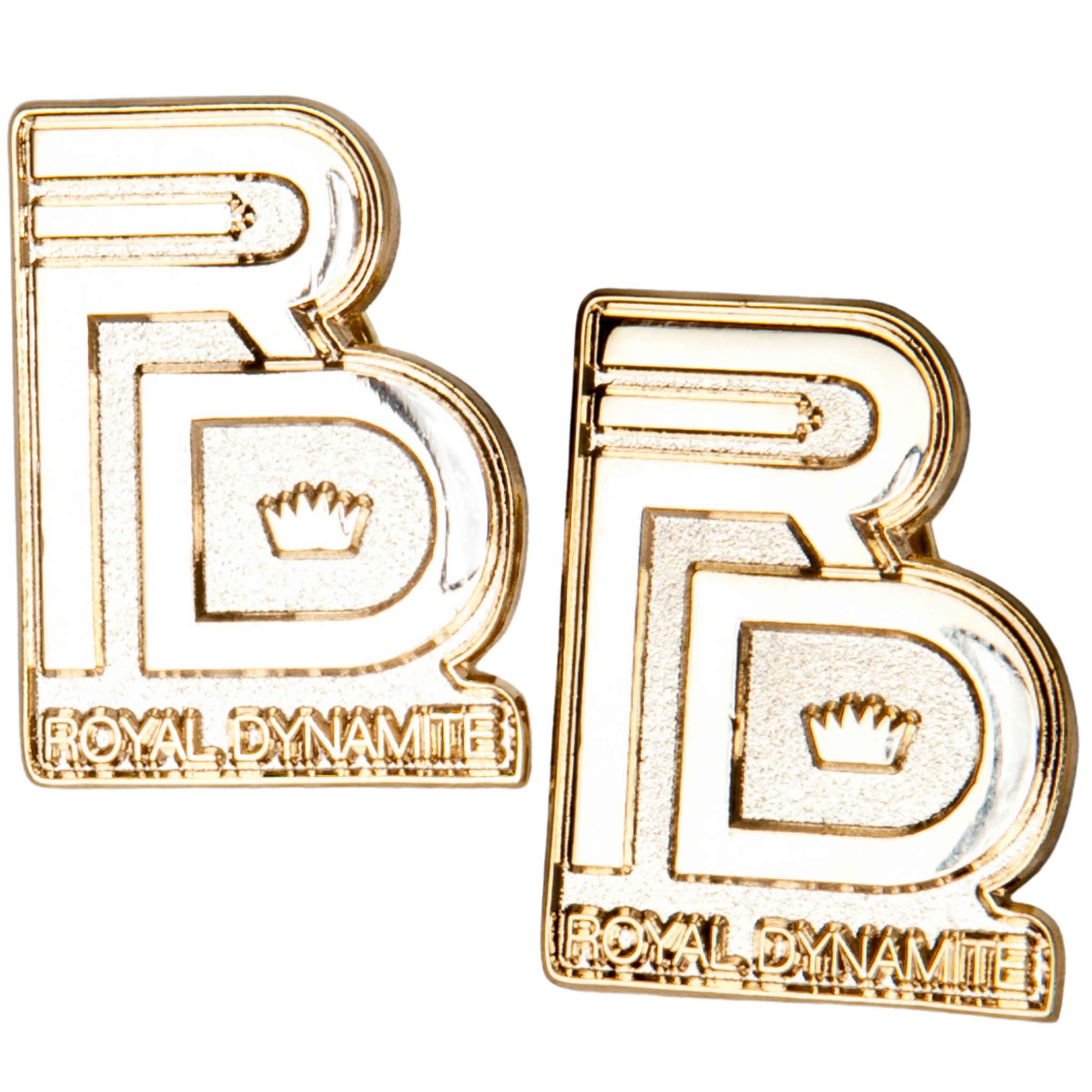 RD GOLD LOGO PINS