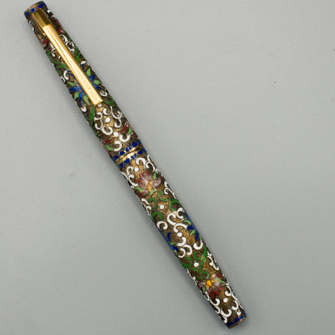 Gold Star Fountain Pen (Flowers)