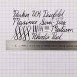 Parker UK Duofold Maxima (Black)