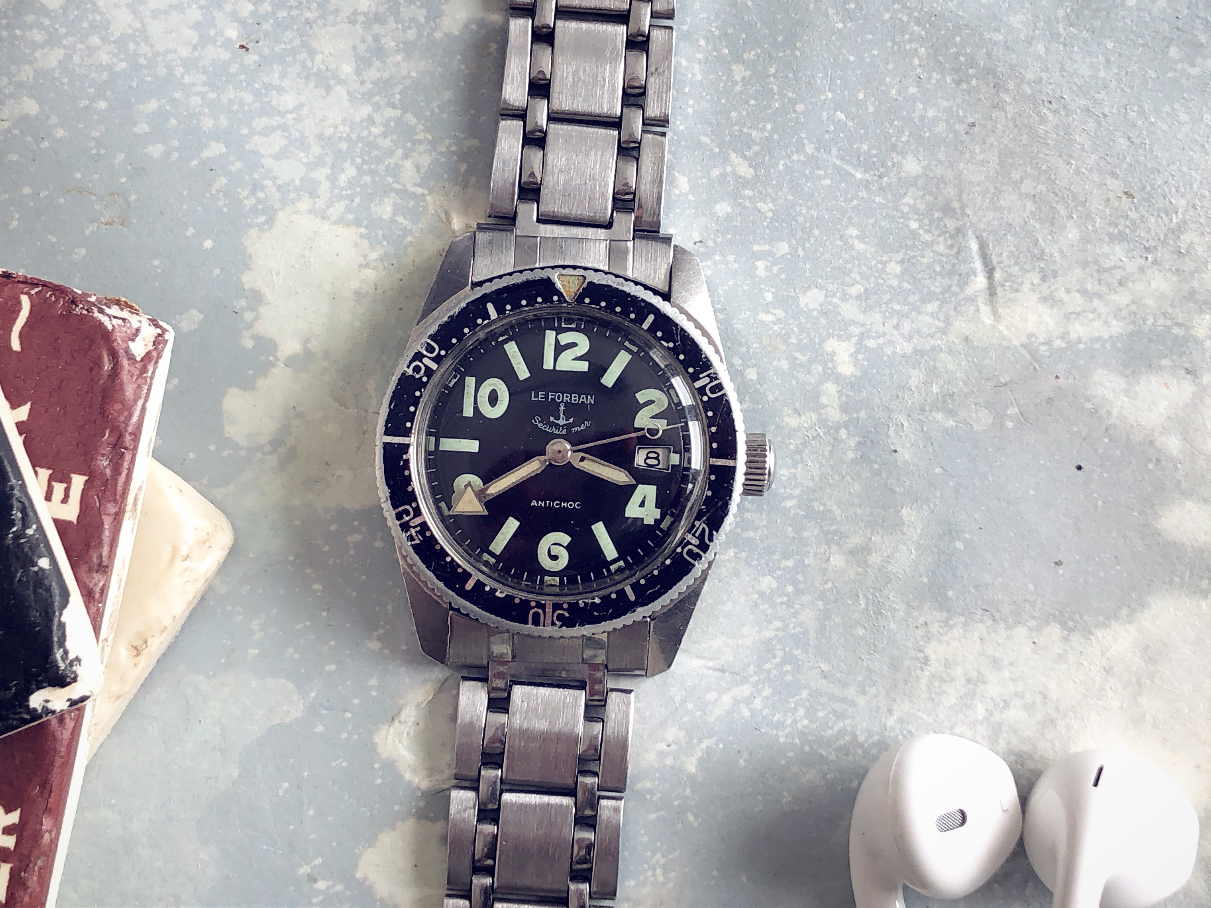 LE FORBAN MILITARY DIVER. REF: 35807
