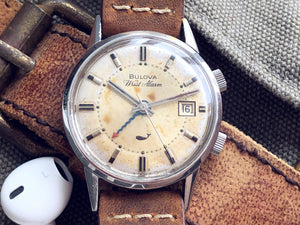 BULOVA SEA KING WRIST ALARM. REF: 223216