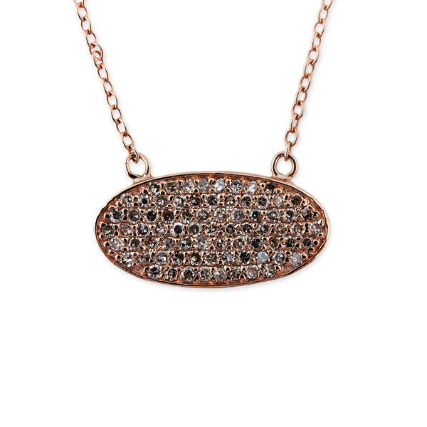 OVAL BRICK NECKLACE