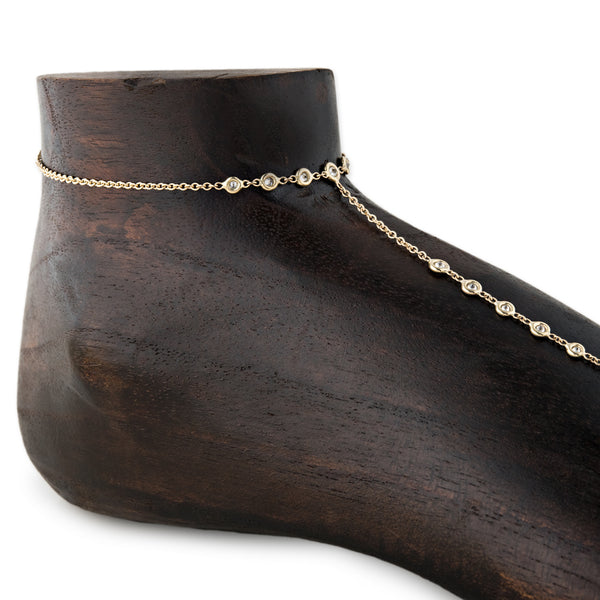 17 DIAMOND TOE ANKLET